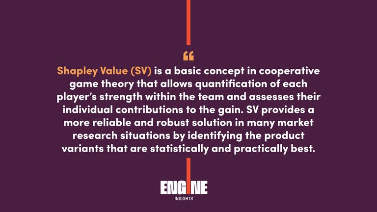 Shapley Value SV is a basic concept in cooperative game theory that allows quantification of each players strength within the team and assesses their individual contributions to the gain.